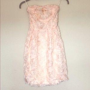 Zara strapless dress 👗